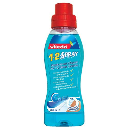 Vileda Cleaning Solution Refill for 1-2 Spray and Clean Mop System Ref 1006088
