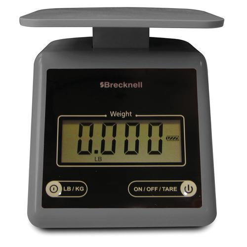 Brecknell PS-7 Compact Postal Scale LCD Display Grey Ref 816965005222