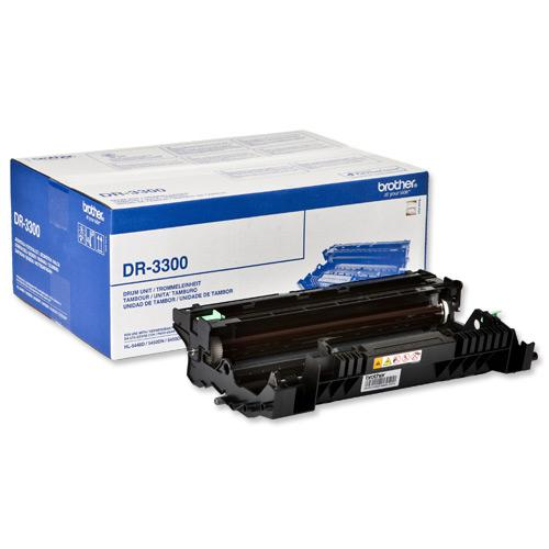 Brother Laser Drum Unit Page Life 30000pp Ref DR3300