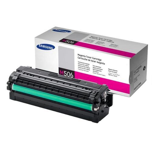 Samsung CLT-M506L Laser Toner Cartridge High Yield Page Life 3500pp Magenta Ref SU305A