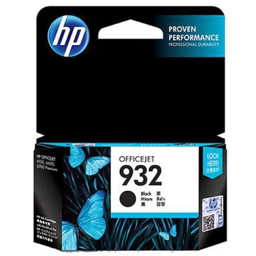 Hewlett Packard [HP] No.932 Inkjet Cartridge Page Life 400pp 8.5ml Black Ref CN057AE
