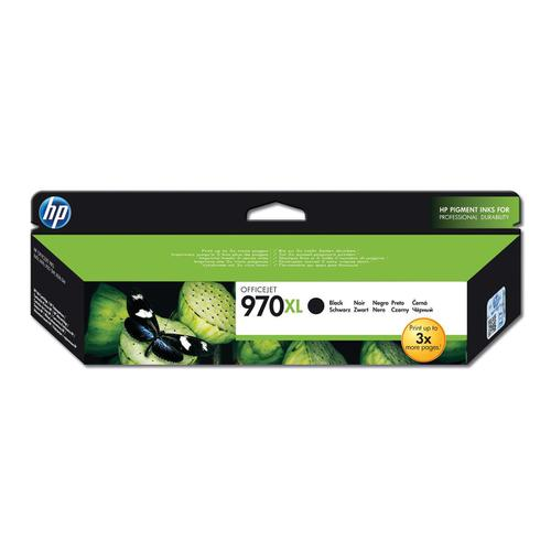 Hewlett Packard [HP] No.970XL Inkjet Cartridge High Yield Page Life 9200pp 173.5ml Black Ref CN625AE