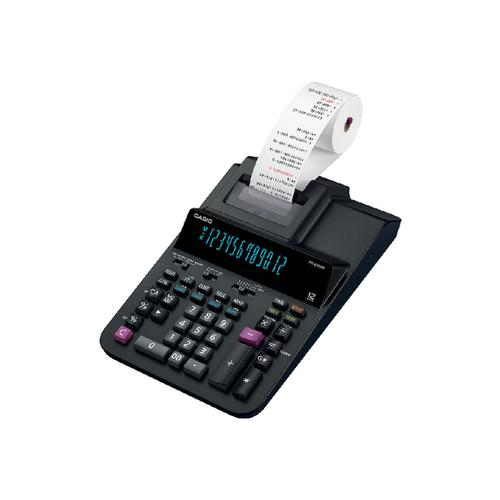 Casio Desktop Printing Calculator 12 Digit 2 Colour Printing 215x88x339mm Black Ref FR-620RE-B-UC