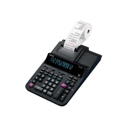 Casio Desktop Printing Calculator 12 Digit 2 Colour Printing 215x88x339mm Black Ref FR-620RE-B-UC