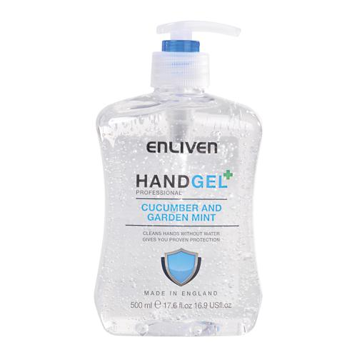 Enliven Hand Sanitizer Cucumber & Mint 500ml Ref 502169