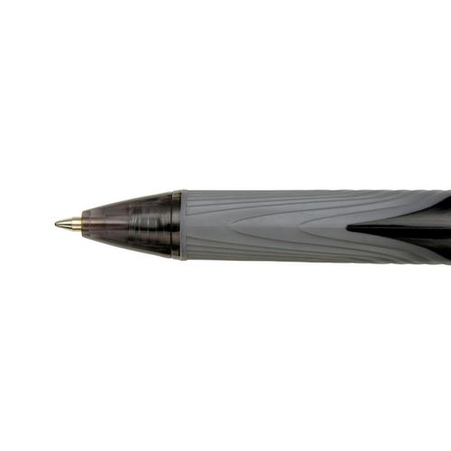 5 Star Elite Retractable Gel Pen 0.7mm Tip 0.5mm Line Black [Pack 12] by The OT Group, 107267