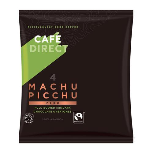 Cafe Direct Machu Picchu Peru Filter Coffee 60g Sachet Ref FCR1011 [Pack 45]