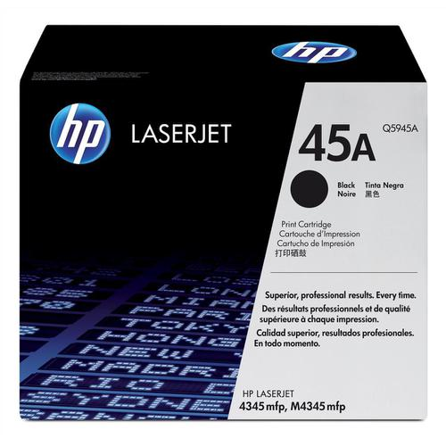 HP 45A Laser Toner Cartridge Page Life 18000pp Black Ref Q5945A