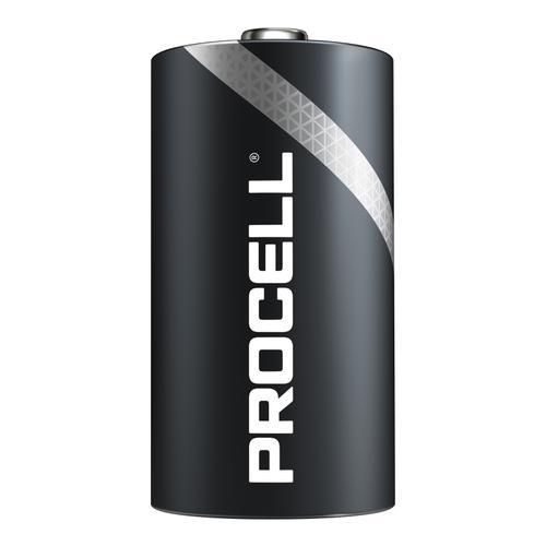 Duracell Procell Battery Alkaline 1.5V D Ref 5007610 [Pack 10]