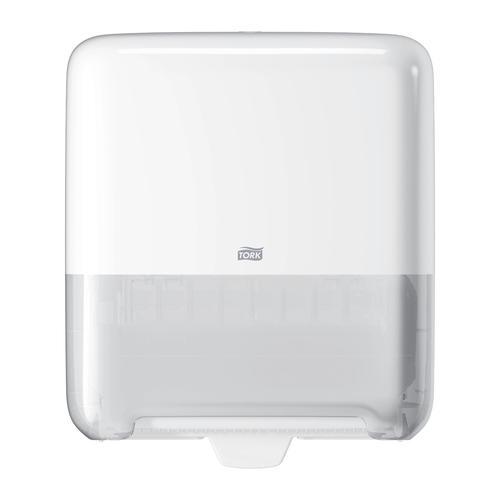 Tork Matic H1 Hand Towel Roll Dispenser W337D203xH372mm Plastic White Ref 551000