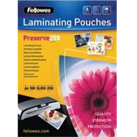 Fellowes Laminating Pouches 500 Micron for A4 Ref 54018 [Pack 100]