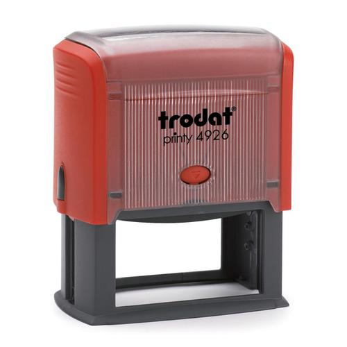 Trodat Printy 4926 Custom Stamp Self-inking Text Area 72x35mm Ref 11671