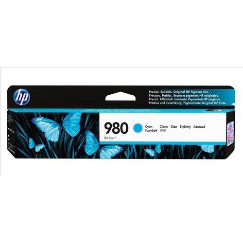 Hewlett Packard [HP] No.980 Inkjet Cartridge Page Life 6600pp Cartridge Cyan Ref D8J07A