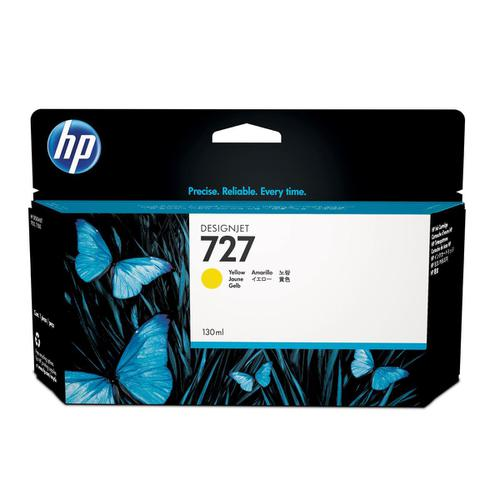 Hewlett Packard [HP] No.727 Designjet Inkjet Cartridge 130ml Yellow Ref B3P21A