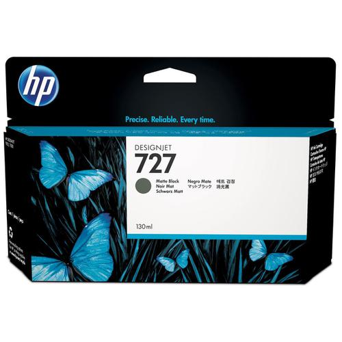Hewlett Packard [HP] No.727 Designjet Inkjet Cartridge 130ml Matte Black Ref B3P22A