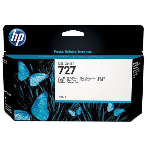 Hewlett Packard [HP] No.727 Inkjet Cartridge 130ml Photo Black Ref B3P23A
