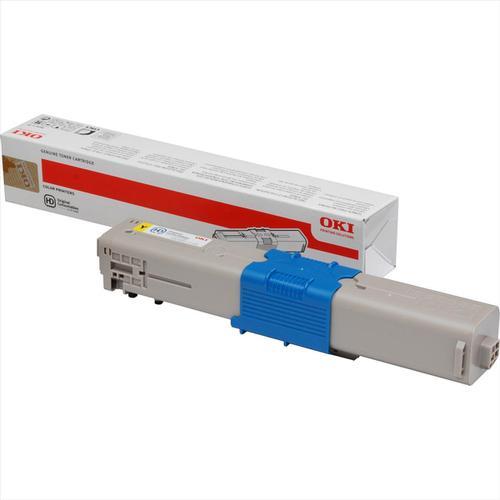 OKI Laser Toner Cartridge Page Life 1500pp Yellow Ref 44973533