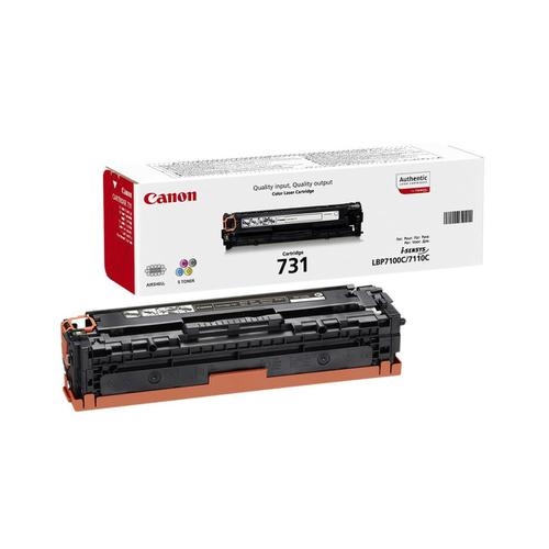 Canon 731C Laser Toner Cartridge Page Life 1500pp Cyan Ref 6271B002