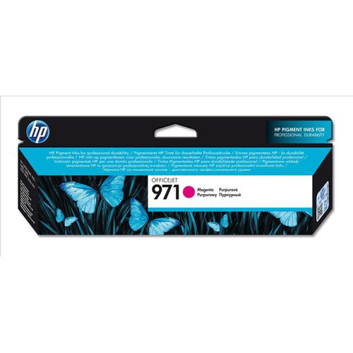 Hewlett Packard [HP] No.971 Inkjet Cartridge Page Life 2500pp 31.5ml Magenta Ref CN623AE