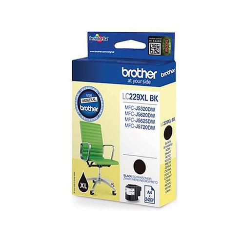 Brother Inkjet Cartridge High Yield Page Life 2400pp Black Ref LC229XLBK