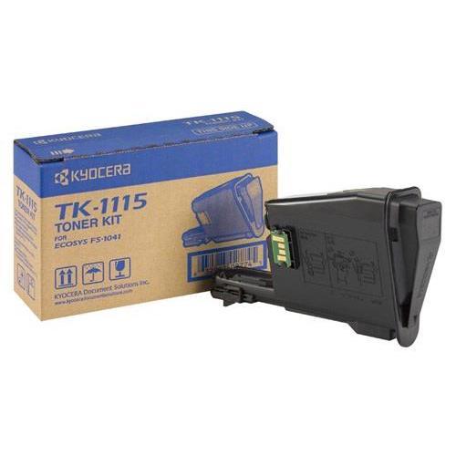 Kyocera TK-1115 Laser Toner Cartridge Page Life 1600pp Black Ref 1T02M50NLV
