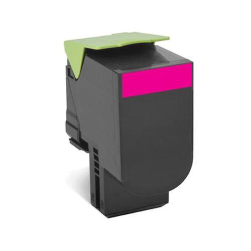 Lexmark 702M Laser Toner Cartridge Return Programme Page Life 1000pp Magenta Ref 70C20M0