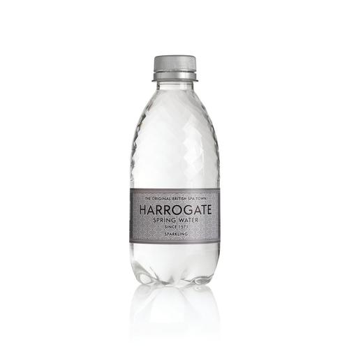 Harrogate Sparkling Water Plastic Bottle 330ml Ref P330302C [Pack 30]