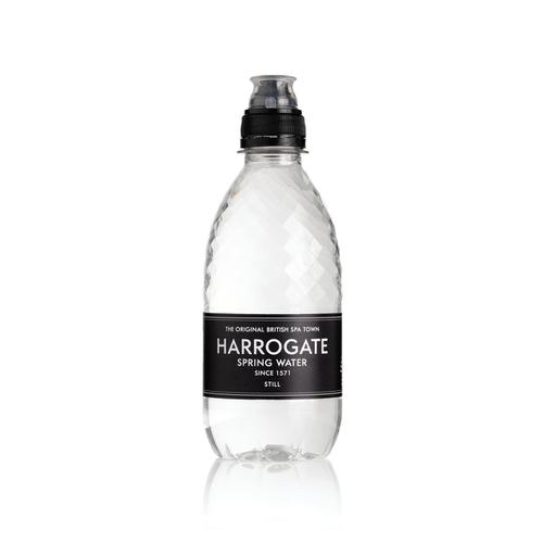 Harrogate Still Water Sport Cap Plastic Bottle 330ml Ref P330303SC [Pack 30]