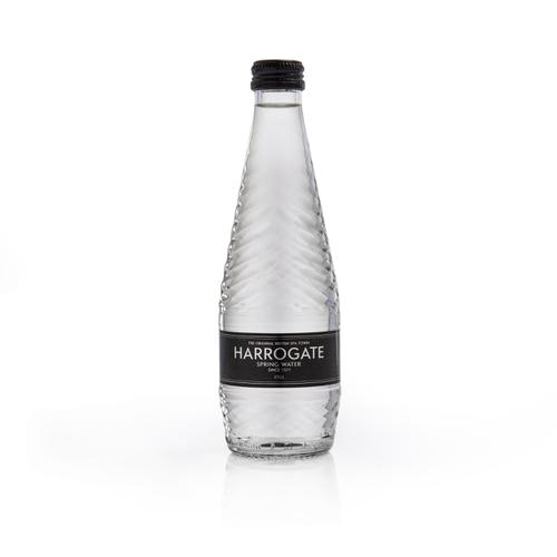 Harrogate Still Water Glass Bottle 330ml Ref G330241S [Pack 24]