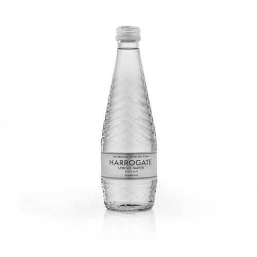 Harrogate Sparkling Water Glass Bottle 330ml Ref G330242C [Pack 24]