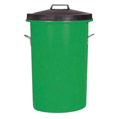 Dustbin Heavy Duty 85 Litres Green