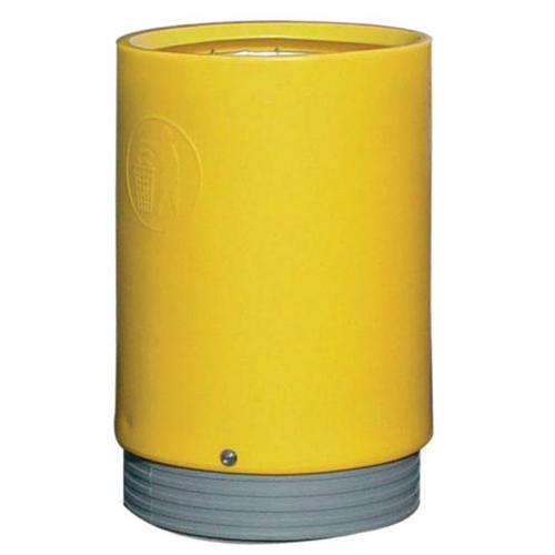 Open Top Bin Heavy-Duty 75 Litres Yellow