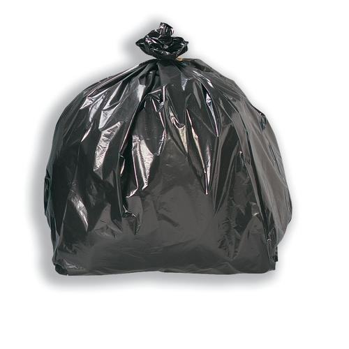 5 Star Facilities Bin Liners Heavy Duty 110 Litre Capacity W440/740xH970mm Black [Pack 200]