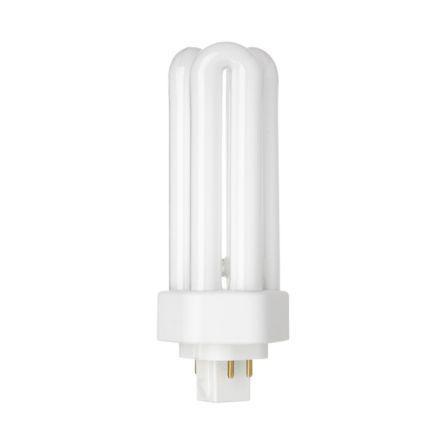 Tungsram 26W 4pin Hex Plug-in GX24q-3 Fluo Bulb Dim 1800lm 105V EEC-A WrmWht Ref34397*Upto10 DayLeadtime*