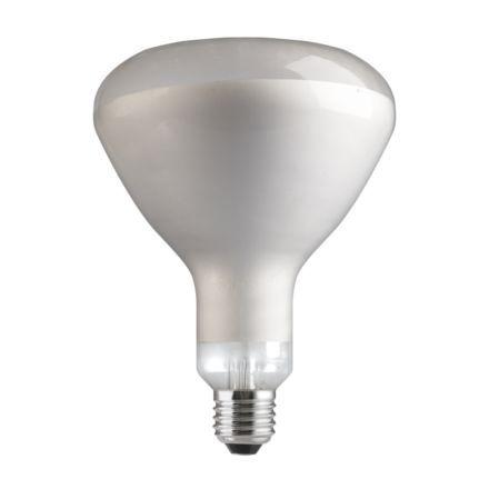 Tungsram 250W Infrared E27 Reflector Incandescent Bulb Dim 240V Clear Ref28724 *Up to 10 Day Leadtime*