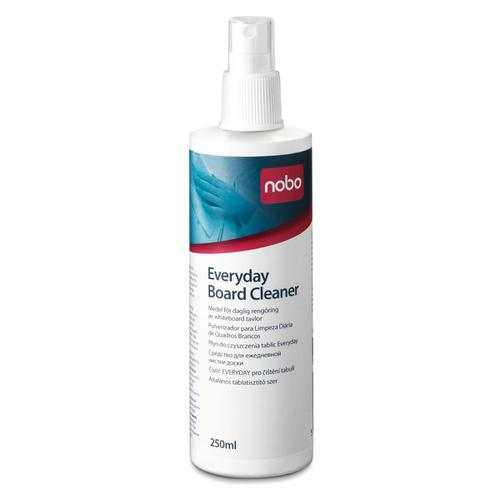 Nobo Everyday Whiteboard Cleaning Fluid Pump Spray 250ml Ref 1901435