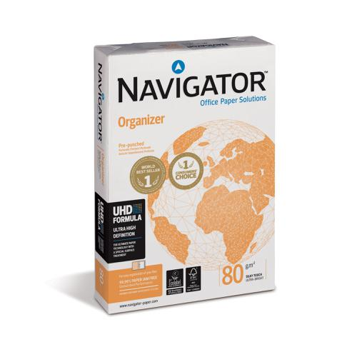 Navigator Orgn Paper Multifunctional Ream-Wrapped 80gsm A4 Ref 127563 [500 Shts][REDEMPTION] Apr-June 20