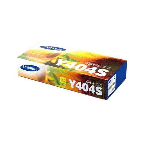 Samsung CLT-Y404S Laser Toner Cartridge Page Life 1000pp Yellow Ref SU444A