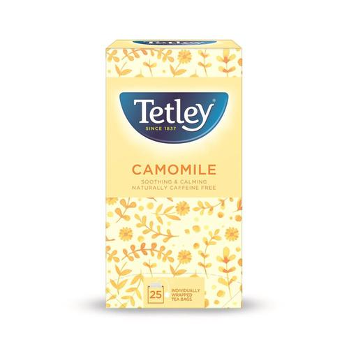 Tetley Individually Enveloped Tea Bags Camomile Smile Ref 1287B [Pack 25]