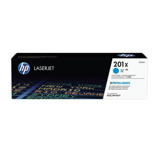 HP 201X Laserjet Toner Cartridge High Yield Page Life2300pp Cyan Ref CF401X