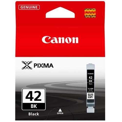 Canon CLI-42 Black Ink Cartridge Page Life 900p 13ml Ref 6384B001