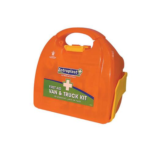 Wallace Cameron First-Aid Kit Van and Truck Kit with Bracket Ref 1020107