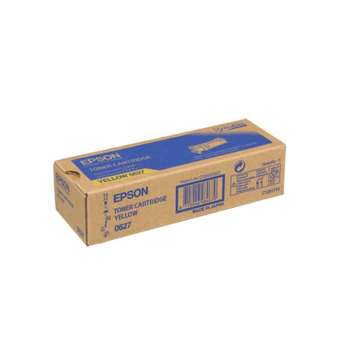 Epson S0506 LaserToner Cartridge Page Life 2500pp Yellow Ref C13S050627 *3to5 Day Leadtime*