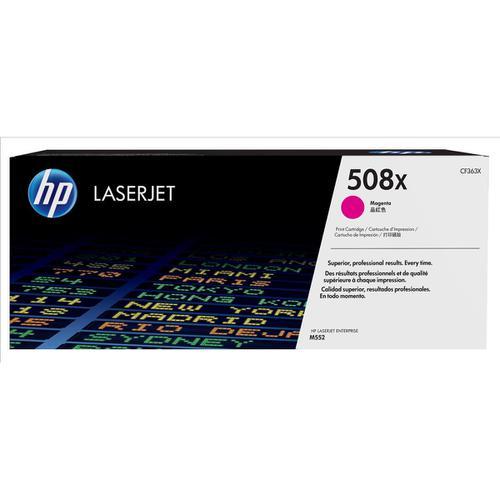 HP 508X Laser Toner Cartridge High Yield Page Life 9500pp Magenta Ref CF363X