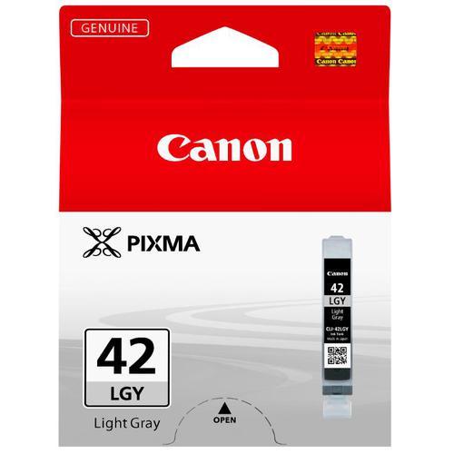 Canon CLI-42LGY Photo Ink Tank Page Life 835pp Capacity 13ml Light Grey Ref 6391B001