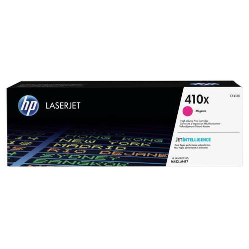 HP 410X Laser Toner Cartridge High Yield Page Life 5000pp Magenta Ref CF413X
