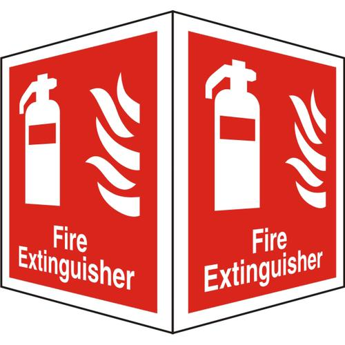 Warehouse Sign 400x600 1mm Semi Rigid Plastic Extinguisher Ref WPF03SRP-400x600 *Up to 10 Day Leadtime*