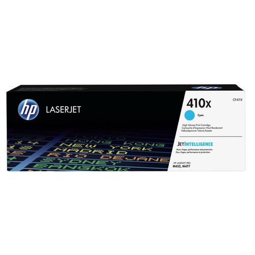HP 410X Laser Toner Cartridge High Yield Page Life 5000pp Cyan Ref CF411X