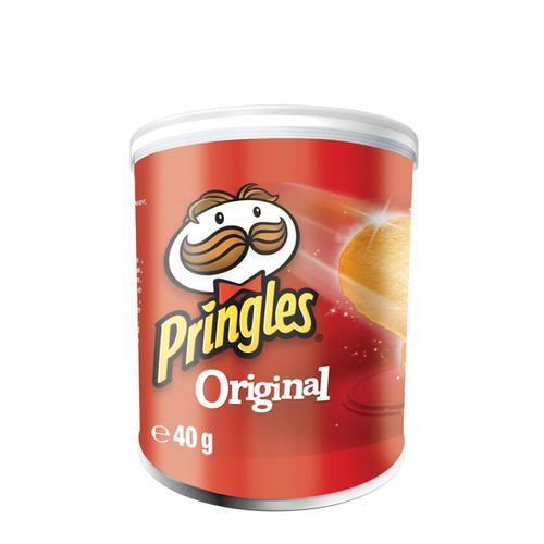 Pringles Original Crisps 40g Ref N003607 [Pack 12]