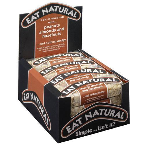 Eat Natural Bar Peanuts Hazelnuts & Almonds 50g Ref 5008354547 [Pack 12]